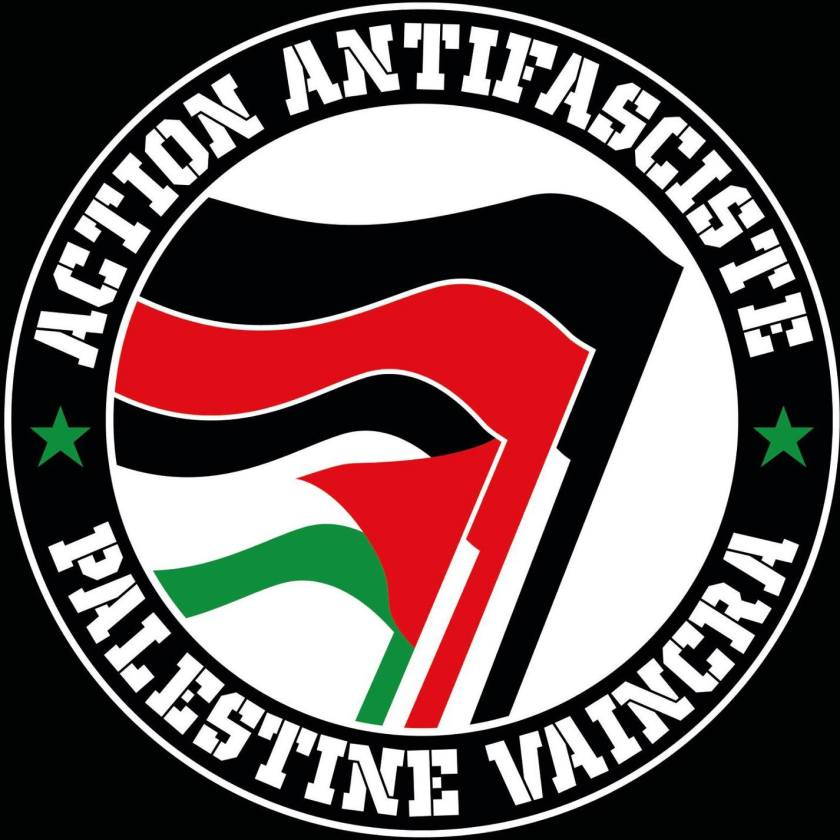 Action Antifasciste : Palestine vaincra