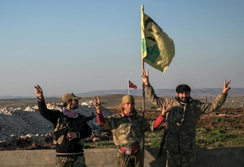anarchistes turcs Rojava